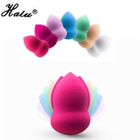 Wholesale Cleansing Tools Wholesale - HaLu cosmetic puff make up sponge cleansing gourd-type makeup applicator BB cream Sponge foundation powder blush blender tool 9 color