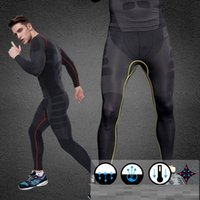 Wholesale Casual mens compression tights pants high elastic Quickly dry running tights compression men body shaper weight loss