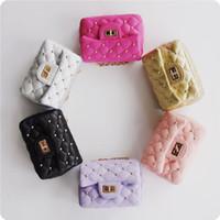 Wholesale New Stylish Girls - Fashion Baby Rivets Tote Bag Kid Girl Designer Messenger bags Child Stylish Handbag Girls Shoulder Bag Kids New Purse Baby Accessories CK112