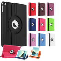 Wholesale S Mini Flip - 360 Degree Rotating Flip PU Leather Cover Stand Case For iPad Mini 1 2 3 4 Samsung Galaxy Tab3 Tab 3 Lite T110 A 8 T350 S S2 T700 T710 T715