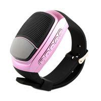 Wholesale best wireless remote for sale - Group buy Smart Watch Smartwatches B90 Wireless Bluetooth Speaker Sports Handsfree TF FM LED Display Alarm Selfie Remote best