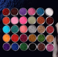Wholesale Glitter Eye Shadow Set - Fashion Glitter Eyeshadow Powder Mineral Spangle Professional Eye Shadow Makeup Cosmetics Set Diamond Shimmer Eye Shadow 60 Colors Mixed