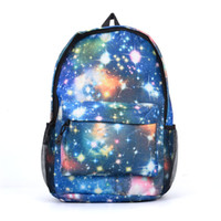 Dream Stars Sky Canvas Backpack Sport Casual Outdoor Packs Mulheres Men Unisex Zipper Moda Student School Bag High Capacity VK5205