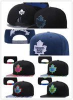 Wholesale Hockey Snapbacks - Cheap Hot Sale Toronto Maple Leafs Snapback Hats Sport Hockey NHL Unisex Sports Women Casquette Men Casual Headware Adjustable Mix Order