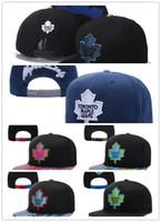 Wholesale Cheap Leaf Springs - Cheap Hot Sale Toronto Maple Leafs Snapback Hats Sport Hockey NHL Unisex Sports Women Casquette Men Casual Headware Adjustable Mix Order