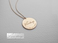 Wholesale Personalized Picture Jewelry - Name Necklace Picture Necklace Personalized Pendant Necklace-Your Exclusive Jewelry,Friendship,Gift,Customized Round Necklace,Free Gift Box