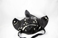 Wholesale Sex Toys For Christmas Gifts - PU Leather Punk Long Nose Masks Strap Sex Bondage Gear Flirt Party Halloween Masks Adult Sex Toys For Couples Christmas Gifts