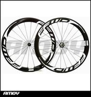 Wholesale Carbon Fiber Rims Bicycle - Fast Forward FFWD F5R wheels full carbon fiber road bike wheels carbon wheelset 700c rims carbon bicycle wheels clincher or tubular 50mm