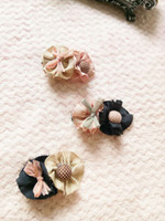 Wholesale Kids Hair Accessories Wholesale China - 2017 NEW KIDS Flower bowknot hair clips turnkey cloth baby hairpin children bow hair accessories