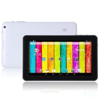 Quad Core 9 pollici A33 Tablet PC con flash Bluetooth 1 GB di RAM 8 GB di ROM Allwinner A33 Andriod 4.4 1.5 Ghz DHL