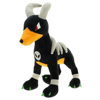 """Wholesale Toys For Childrens - Hot New 12"""" 30CM Houndoom Poke Doll Anime Collectible Stuffed Dolls Animals Best Gifts For The Childrens Soft Plush Toys"""
