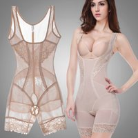 Vente en gros - Femmes Été Style Body Shapers Shaping Slim Underwear Taille Corsets Butt Lifter Sculpting Vêtements Shapewear Bodysuit
