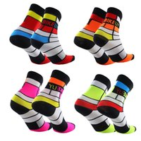 Wholesale Pink Bicycle Accessories - 2016 New Unisex Cycling Socks High elasticity outdoor Sports Socks quick dry road bicycle riding socks welcome to customized