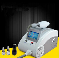 Wholesale tatoo removal laser resale online - 2017 touch screen mj W touch screen yag laser tatoo removal machine with nm nm and black doll
