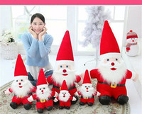 Vente en gros - Santa Claus Toys Doll Noël / Décoration Holiday / Party Ornament 20cm Kids Gifts