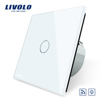 Wholesale Remote Ac Wall Switch - Livolo EU Standard Switch, Eu Standards AC 220~250V Remote& Dimmer Wall Light Switch,VL-C701DR-1 2 3 5