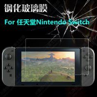 Wholesale Tempered Glass Switch - Wholesale- 20pcs lot Wholesale NEWCOOL 9H Screen Guard for Nintendo Switch NS 2107 Tempered Glass Screen Protector Protective Film