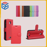 Wholesale alcatel inch phone for sale – best 2017 hot selling cell phone case pu leather flip cover case for alcatel dawn d a5027 with card holder inch