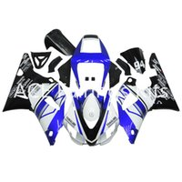 Wholesale Complete Motorcycle Fairing Kits - 3 free gifts Complete Fairings For Yamaha YZF 1000-YZF-R1-98-99 YZF-R1-1998-1999 Motorcycle Full Fairing Kit Blue black White