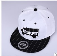 Barato Best Buy Chapéus-Grey black TRUKFIT Truk Snapback Men's fashion snap back hats bonés de bonés trukfit, comprar Cheap Trukfit Snapback da Best Store