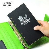 Wholesale Wholesale Printed Notepads - Wholesale- New A6 Woodfree Printing Paper Planner Inner Pages For Filofax Creative Office Notebook Spiral Filler Papers Binder Inner Page