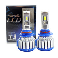 Wholesale H11 Canbus - T1 Car Headlight Bulbs H7 H1 H3 H8 H9 H11 HB3 9005 HB4 9006 880 Canbus 12V Error Free Super Bright Auto Lights Conversion Kit