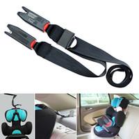 Wholesale Isofix Safety Seats - 2017 New Car Shild Safety Seat Isofix latch Soft Interface Connecting Belt Fixing Band