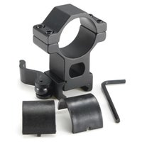 Quickly Release Tactical High Profile 30mm Scope Rings Weaver Picatinny Rail Mount para Rifle e 25mm Scope Ring Adapter