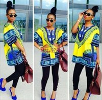 Wholesale Traditional clothing African Dresses for Women Dashiki Dress robe African Bazin Riche vestidos longos verao Prom vetement elbise