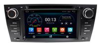 Wholesale Dvd Bmw E92 - Android 5.1 Car DVD Player for BMW 3 Series E90 E91 E92 E93 with GPS Navigation Radio Bluetooth USB AUX WiFi Stereo