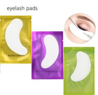sob manchas de gel para os olhos venda por atacado-Hidrogel fino Remendo Do Olho para a Extensão Dos Cílios Sob Os Remendos de Olho Sem Fio Almofadas de Gel Umidade Máscara de Olho OOA2153