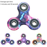 Wholesale Hot Selling Kids Toy - 2017 Hot selling fidget spinner Spin nearly 4 minutes Fingertip gyro EDC toy decompression toys hand spinner bearing R188