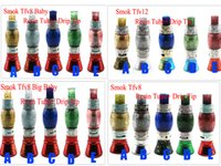 Wholesale Electronic Cigarette Big - Shinny Dollar Resin Tube Replacement Caps with Drip Tips Big Capacity for Electronic Cigarette Glass Smok TFV12 TFV8 Big Baby Tfv8 Baby