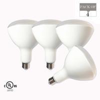 led mum kolye lambası toptan satış-4-Pack BR40 15 W LED Ampul Işıkları LED Sel Işık E26 LED Mum Kapalı Dim Lamba Kolye Spot Aydınlatma 2700 K 3000 K 5000 K