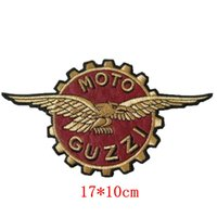 Wholesale Trimmer Clothes - Patch of Moto Guzzi ,Corona Aquila ,Embroidered iron on badge free shipping