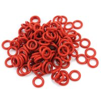 Cheap 120Pcs Rubber O-Ring Switch Dampeners Dark Red For Cherry MX Keyboard Dampers Keycap O Ring Replace Part
