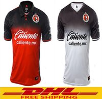 Wholesale Wholesale Ship Mexico - In stock DHL Free shipping Best Quality 2017 2018 Tijuana Home Rugby Jerseys 1718 Mexico Club Xolos de Tijuana away men Rugby Jerseys