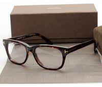 Wholesale Eyeglasses Multicolor - 2017 new TF5147 style frame high-quality pure-plank full-rim prescription glasses frame eyeglasses with original case wholesale freeshipping