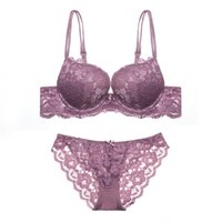 Wholesale European American Big Bra - New European and American big black lace sexy bras bra cup cotton bra sets