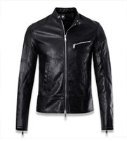 Wholesale Mens Jackets Canada - Mens Leather Jackets blouson moto Punk Veste Homme Motorcycle Coat size M--3XL canada free ship chaqueta de invierno de los hombres piloto