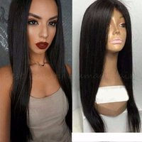 Cosplay perucas Entrega rápida African American Wigs Natural Black Long Yaki Straight Synthetic Wigs For Black Women Preço por atacado