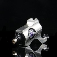 Wholesale Tattoo Liner Machine For Sale - Wholesale-2016 Hot Sales New Rotary Tattoo Machine Bishop Style Professional Sliver Color Tattoo Machine For Liner & Shader Free Shipping