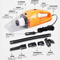 Wholesale Strong Car Vacuum - Wholesale-120 w power strong car vacuum cleaner car dry wet amphibious hand-held automotive small suction machine 5 meters-756