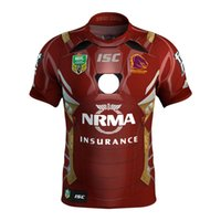 Wholesale Marvel White - Brisbane Broncos 2017 Marvel iron man jersey Rugby Jerseys shirt S-3XL Free shipping rugby shirts size S - 3XL