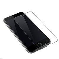 klarer film großhandel-Displayschutzfolie, Premium Clear Displayschutzfolie Gehärtetes Glas Schutzfolie für iPhone 7 Plus