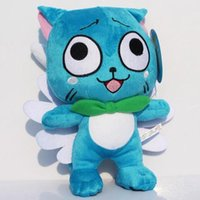 "Wholesale Blue Tail Fly - Fairy Tail 12"" inch 30cm Cute flying Happy plush Doll Stuffed toy"