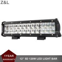 5D 120W Offroad LED Light Bar 12 pollici Combo Car SUV Barca ATV 4X4 4WD camion Pickup Van camper 12V 24V faro di guida