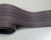 Wholesale Edge Speakers - Wholesale- Length: 2.5 meters thickness:0.25mm Width: 15cm Black Zebra furniture wood veneer door speaker wood veneer Edge