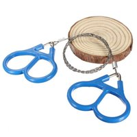 Wholesale Steel Chain Saw Wholesalers - 2017 Popular New Pocket Steel Saw Wire Camping Hunting Travel Emergency Survive Tool Hot Sale Stainless Wire Saw Hand Chain Saw