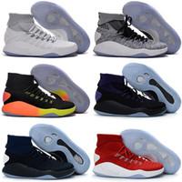 Wholesale Sneaker High Top China - 2016 new Hyperdunk 2016 Olympic wholesale Men Sneakers China High boots Top Meshs Green Casual Shoe Kids shoes Size 7-12